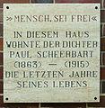 Gedenktafel Marschnerstr 15 (Lichf) Paul Scheerbart.JPG