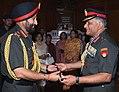 Gen Bikram Singh taking Charge from gen VK Singh.jpg