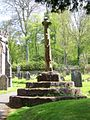 Geograph 1888393 Churchyard cross, Church of the Holy Ghost.jpg