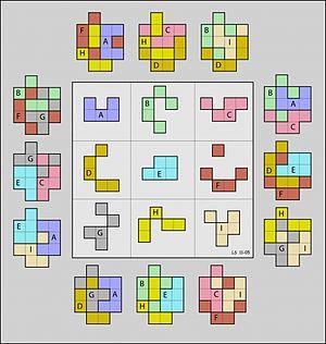 Geometric magic square - Image: Geomagic square 3x 3 nasik