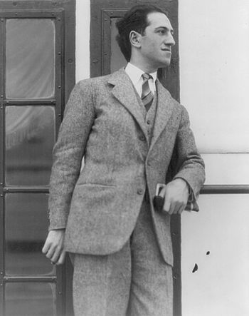 English: George Gershwin (1898 – 1937), an Ame...