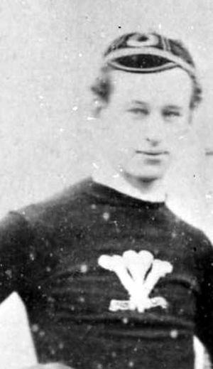 George Lockwood Morris - George Lockwood Morris in Wales jersey