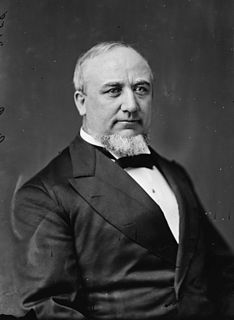 George Q. Cannon Member of the Quorum of the Twelve Apostles and five-time Utah Territorys At-large congressional district
