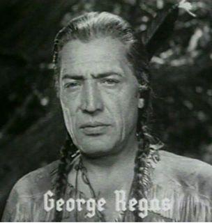 George Regas Greek-American actor