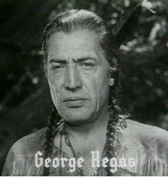George Regas - George Regas as he appeared in the film Daniel Boone, 1936.