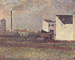 Georges Seurat: Banlieue