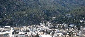 Georgetown, Colorado - Georgetown as seen from Interstate 70