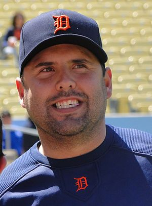Gerald Laird - Laird with the Detroit Tigers in 2010