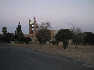 Germiston - The third and current church housing the Gereformeerde Kerk Germiston