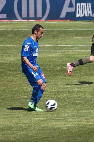 Diego Castro - Castro playing with Getafe in 2013
