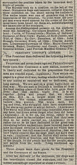 Gettysburg Address Pdf