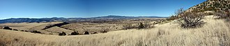 New Mexico Wilderness Act of 1980 - Panoramic view of the Gila Wilderness, Gila National Forest
