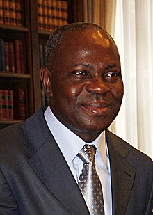 Gilbert Houngbo, Prime Minister of Togo in London, 22 June 2010. (4724043844) cropped.jpg