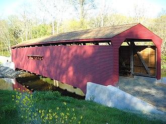 Gilpin's Falls Covered Bridge - Gilpins Falls covered bridge