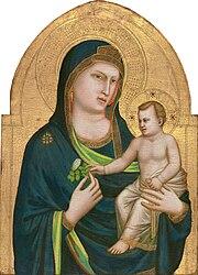 Giotto di Bondone: Madonna with the Child