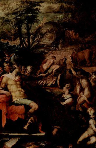 Giovanni Battista Naldini - Giovanni Battista Naldini, The Obtainment of the Grey Ambers, 1570-1573