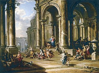The Expulsion of the Money-changers from the Temple