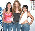 Girl, Kayla Paige, Bianca Dagger at Evil Angel Party 3.jpg
