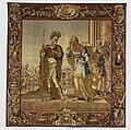 Gobelin in de Burgerzaal- De reeks van Aeneas en Dido. Afscheid van Dido en Aeneas. T6 - Nijmegen - 20421789 - RCE.jpg