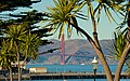 Golden Gate Bridge and trees 2013.jpg
