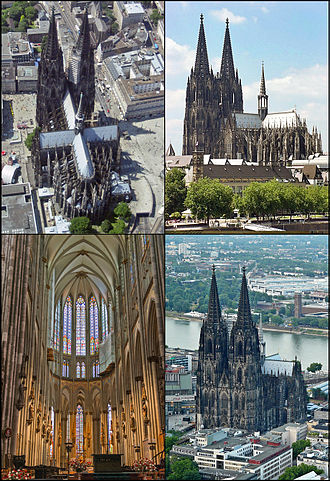 Cologne Cathedral - Image: Gothic Cologne Cathedral 004