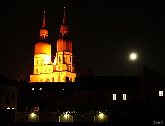 Trnava - Gothic St. Nicolas' Church in Trnava.