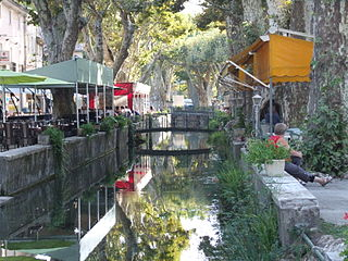 Goudargues Commune in Occitanie, France