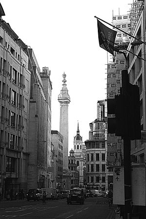 Gracechurch Street - The southern end of Gracechurch Street