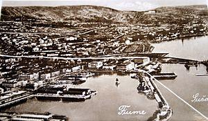 Granica između Rijeke i Sušaka 1937