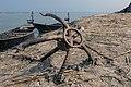 Grapnel anchor, Padma River near Balur Ghat, Rajshahi (02).jpg