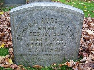 Edward Austin Kent - Grave of Edward Austin Kent