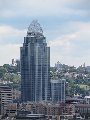 Great American Tower at Queen City Square - Great American Tower (Cincinnati), June 2013