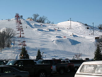 Great Bear Recreation Park - Image: Great Bear ski hill 4