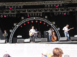 Great Lake Swimmers - Performing at the Burlington Sound of Music festival