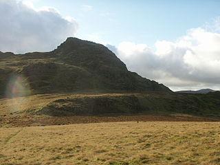 Green Crag mountain in United Kingdom