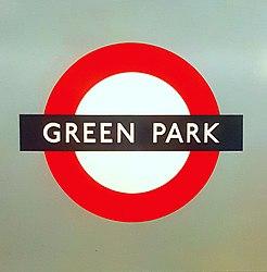 Green park Station Roundel.jpg