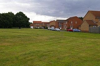 Fairstead, Norfolk suburb in Kings Lynn, Norfolk, UK