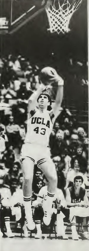 Greg Lee (basketball) - Lee shooting with UCLA in 1972–73