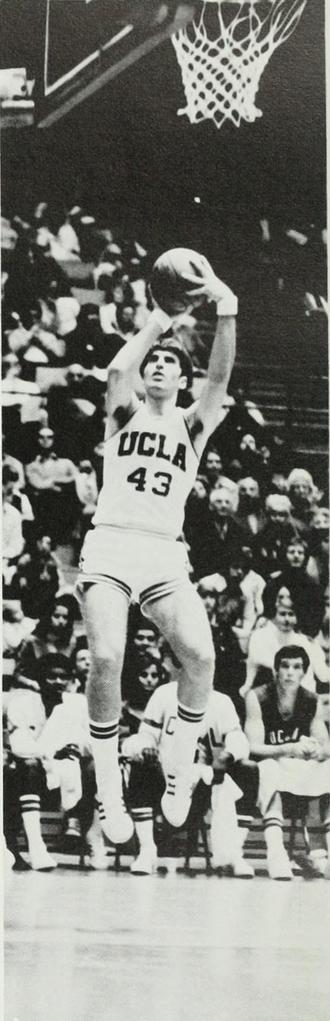 Greg Lee (basketball) - Lee shooting with UCLA in 1972–73