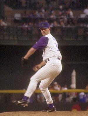 Gregg Olson - Olson with the Arizona Diamondbacks