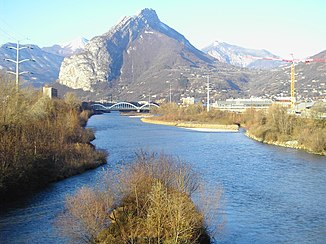 The river in the greater Grenoble area