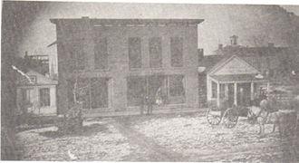 Griggsville, Illinois - Image: Griggsville 1847