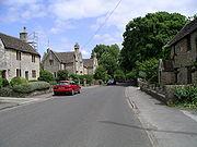Grittleton village (eastwards)