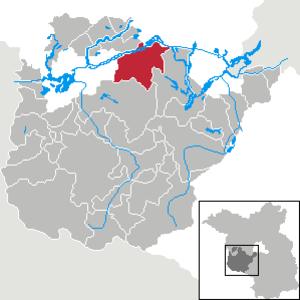Groß Kreutz - Image: Groß Kreutz (Havel) in PM