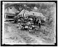 Group of striking union miners & the familys living in tents, Lick Creek, W.Va., (4-12-22) LCCN2016852472.jpg