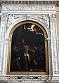 Guercino, martirio di san bartolomeo (1637) con ampi restauri 02 cornice del marrina.JPG