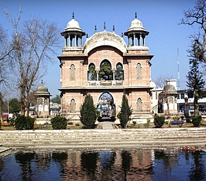 Corps of Guides (India) - Queen's Own Corps of Guides Memorial, Cavagnari's Arch in Mardan