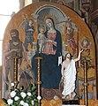 Guidoccio cozzarelli, madonna col bambino e santi, 01.JPG