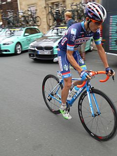 Guillaume Martin French bicycle racer