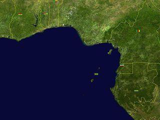 ¿Dónde está el golfo de Guinea?